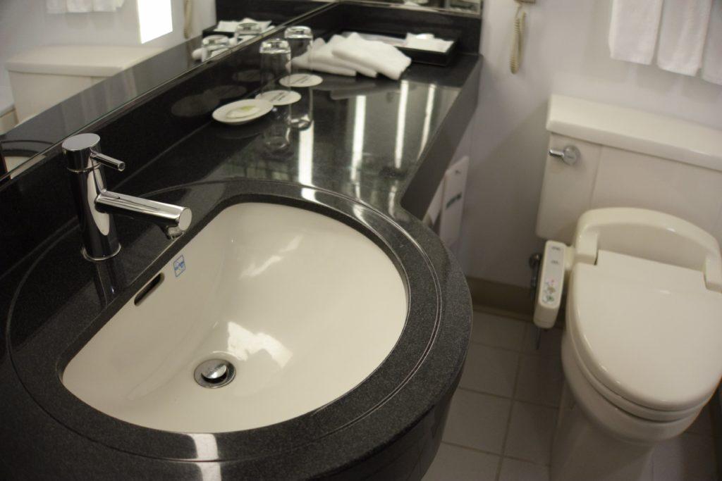 コートヤード・マリオット銀座東武ホテル洗面台