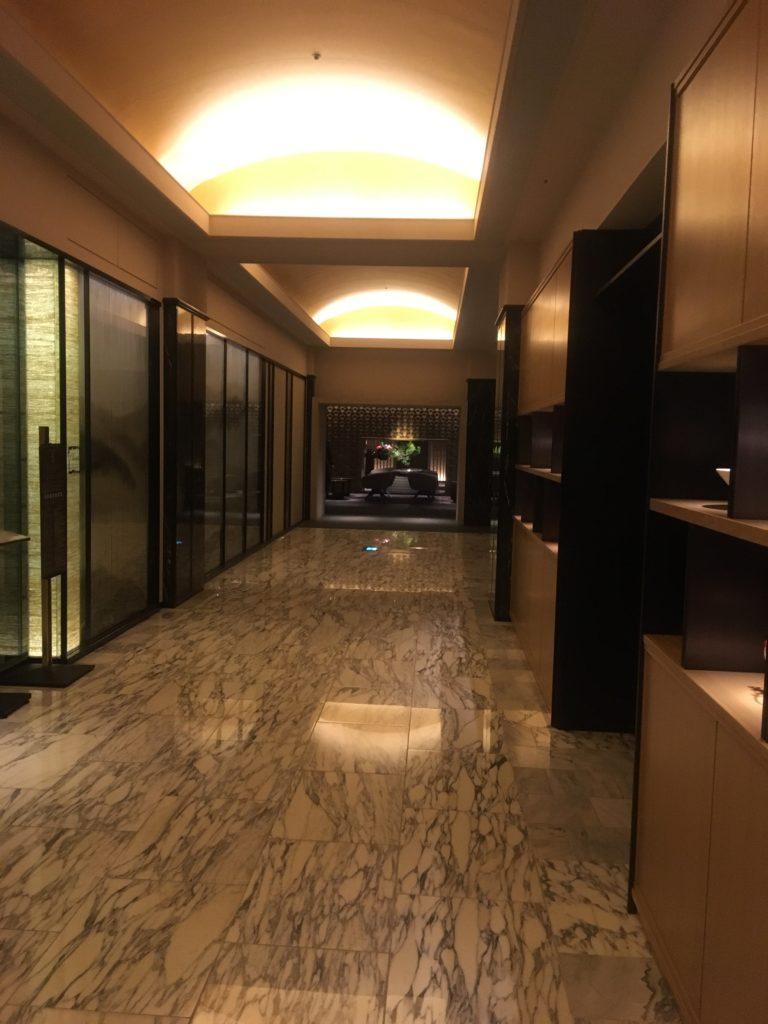 ザ・プリンスさくらタワー東京、オートグラフコレクション廊下2