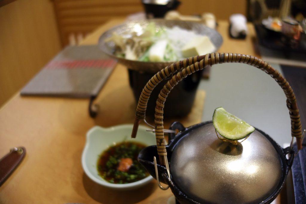 ホテル木暮夕食2