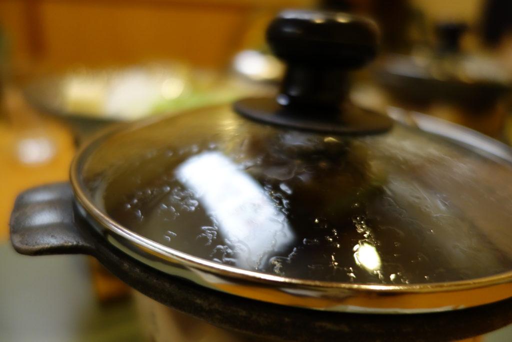 ホテル木暮夕食鍋