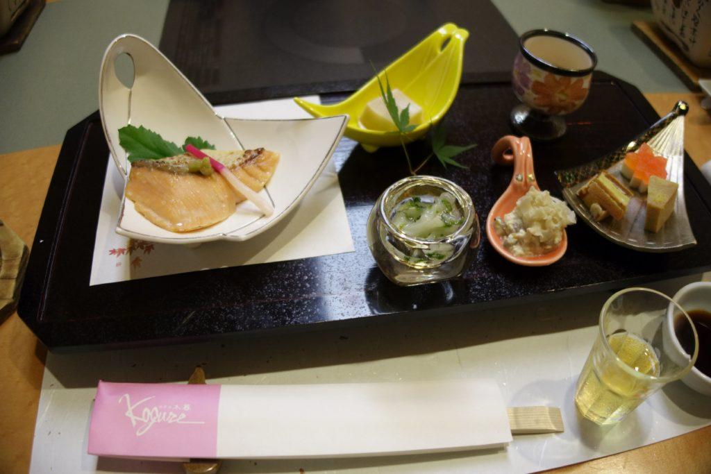 ホテル木暮夕食1