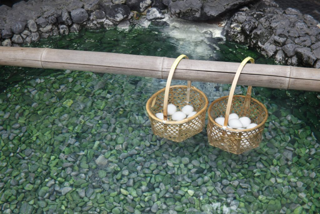 草津温泉卵