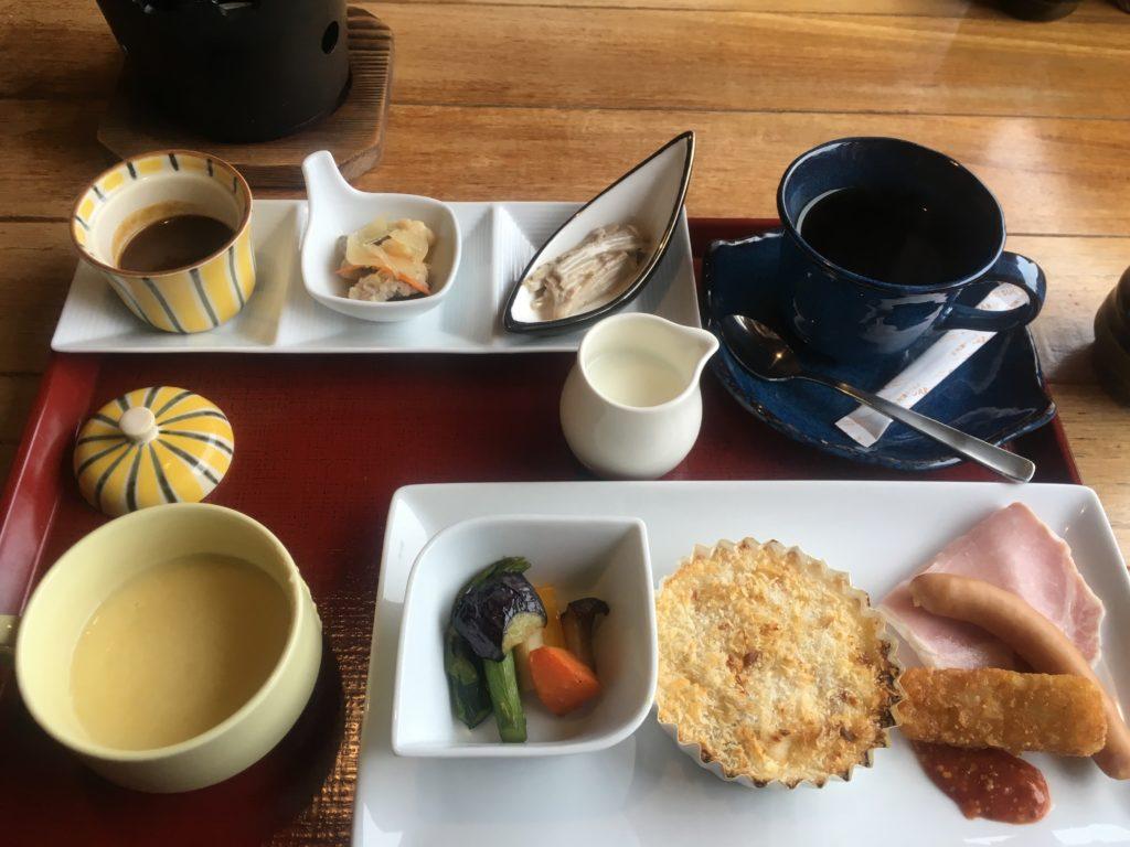 季の庭朝食洋食
