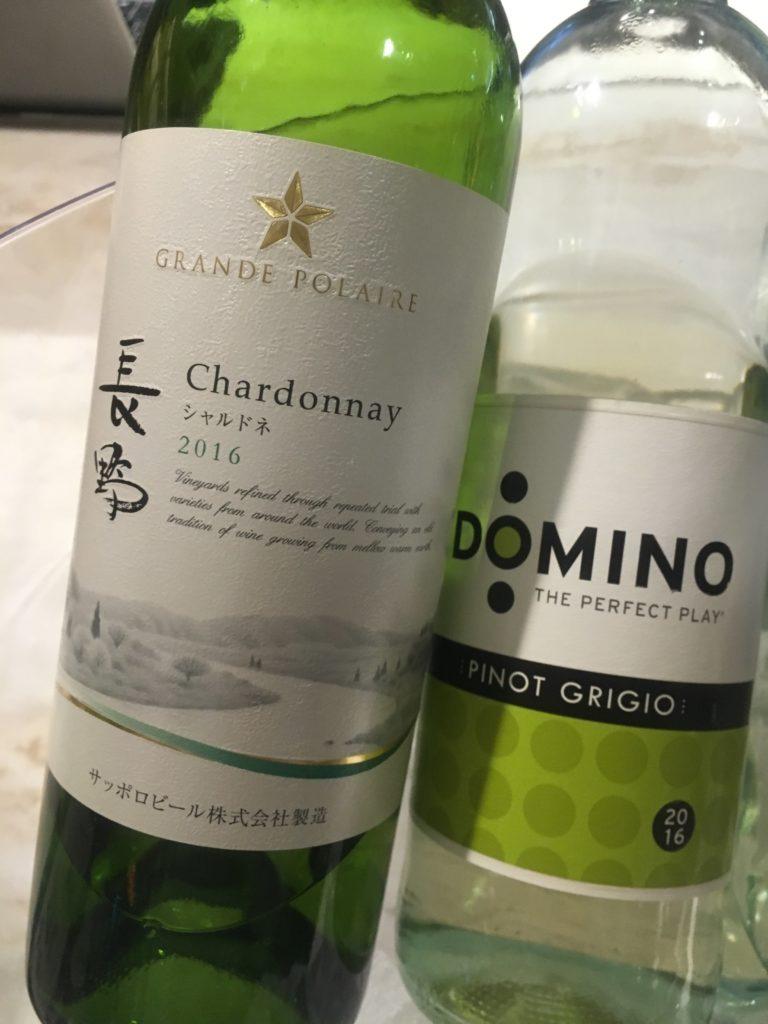 軽井沢マリオットラウンジ白ワイン追加