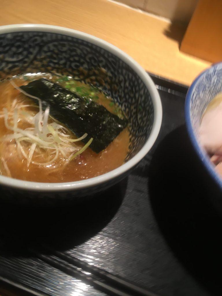 麺屋一燈チャーシュー濃厚魚介つけ麺3