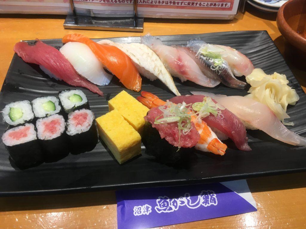 沼津魚がし鮨ラブライブサンシャイン