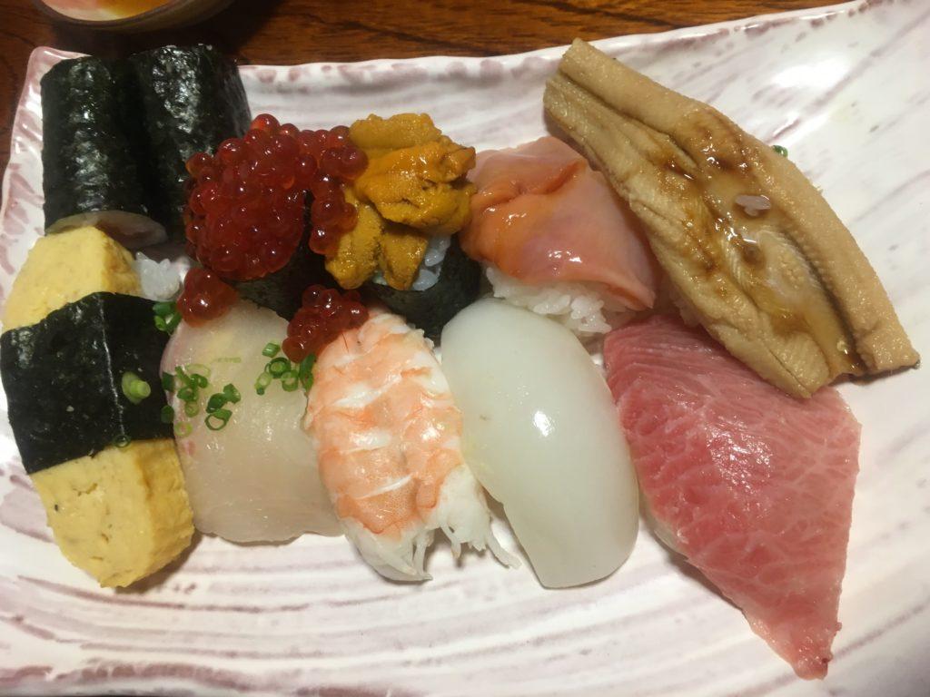 別府大和田鮨お寿司2