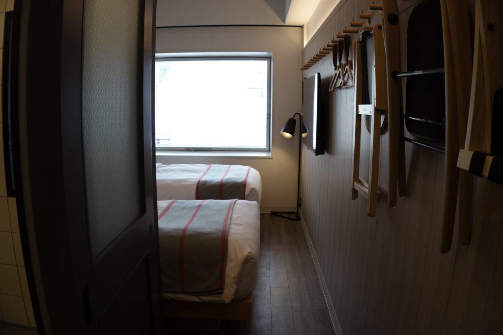 モクシー東京錦糸町部屋入口