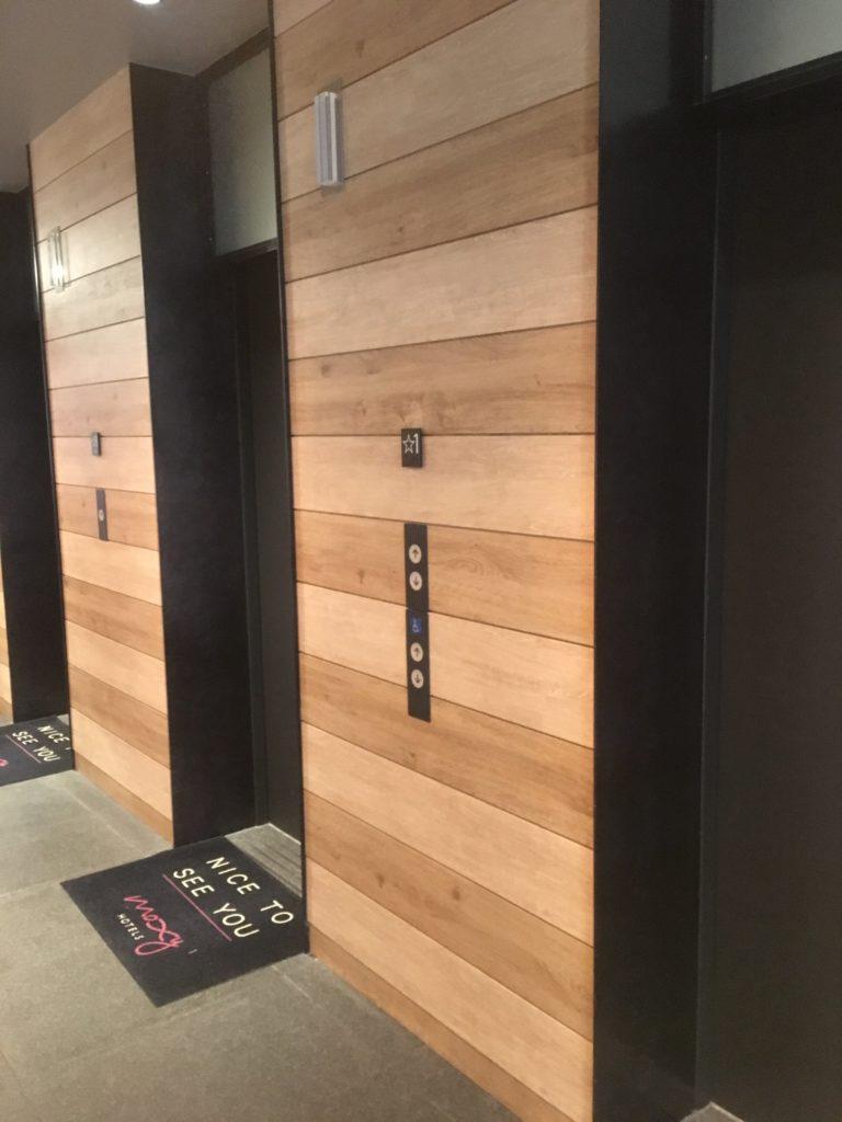 モクシー東京錦糸町エレベーター