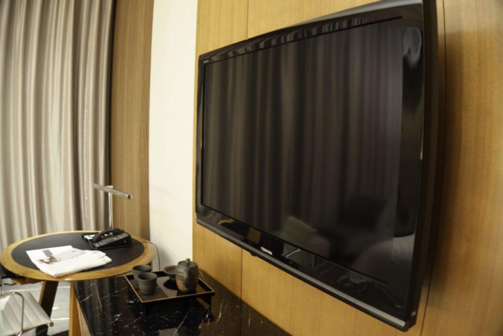 ウェスティンホテル仙台お部屋テレビ