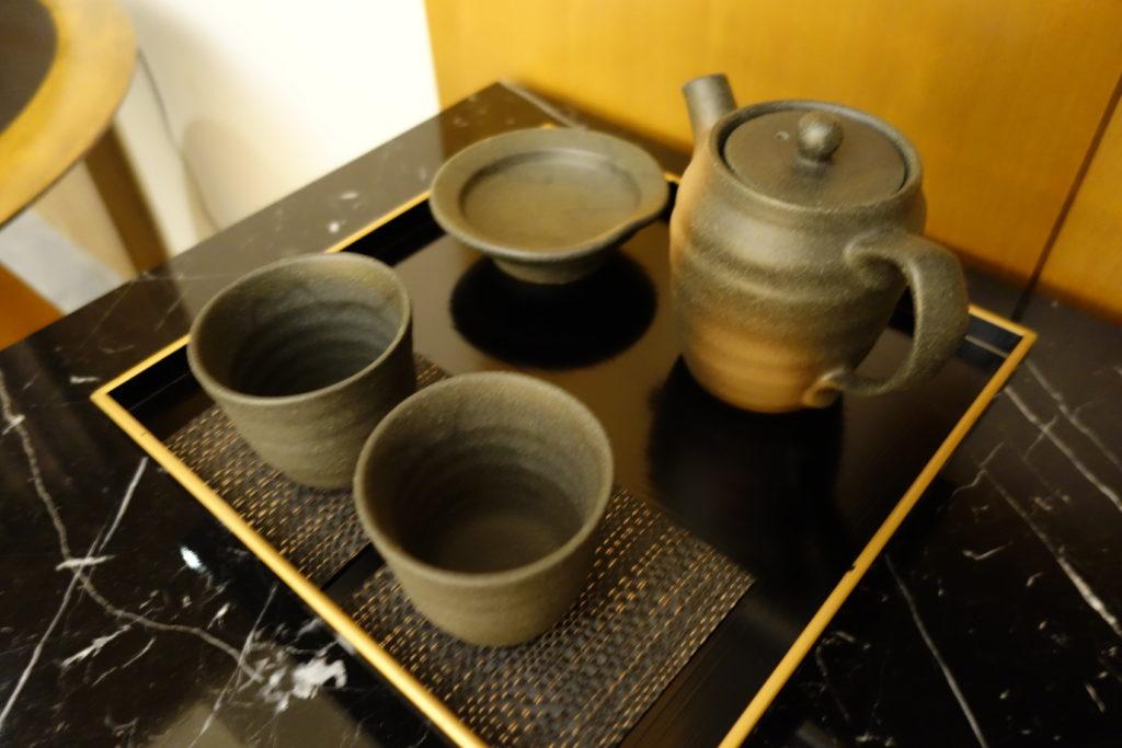 ウェスティンホテル仙台お部屋茶器
