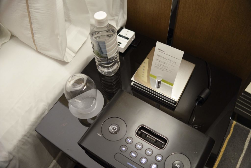 ウェスティンホテル仙台お部屋ターンダウン3