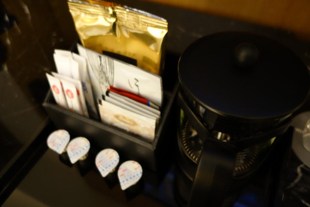 ウェスティンホテル仙台お部屋コーヒー
