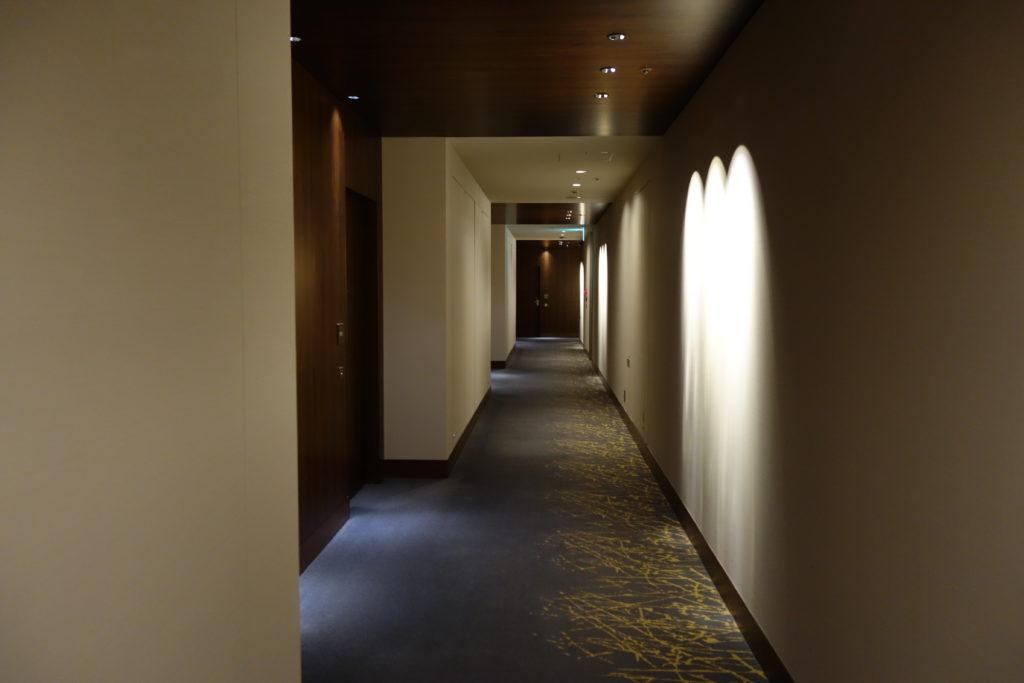 ウェスティンホテル仙台お部屋廊下