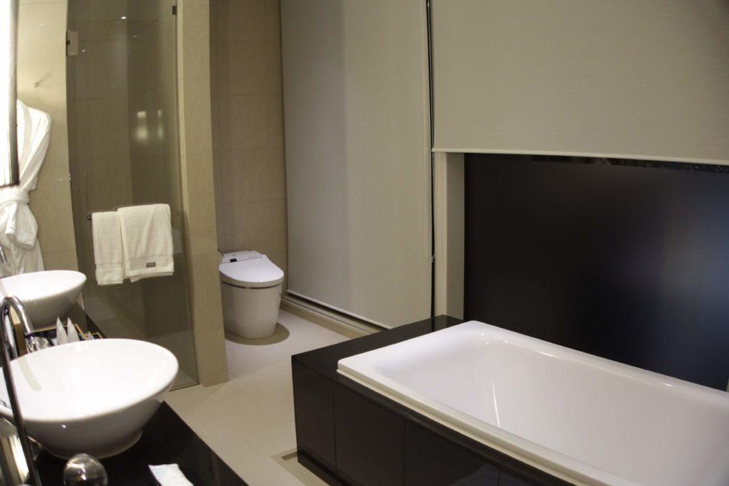 ウェスティンホテル仙台お部屋お風呂
