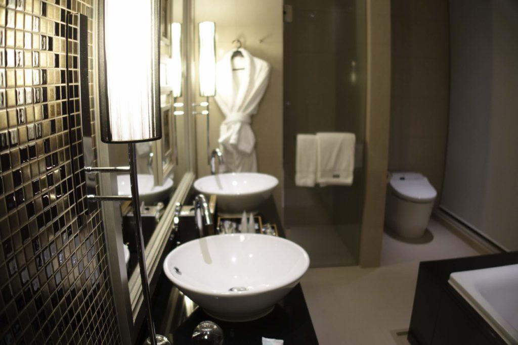 ウェスティンホテル仙台お部屋洗面台