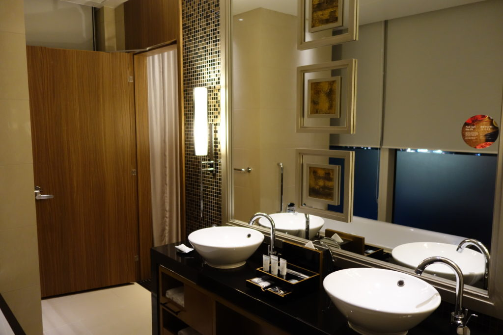 ウェスティンホテル仙台お部屋鏡