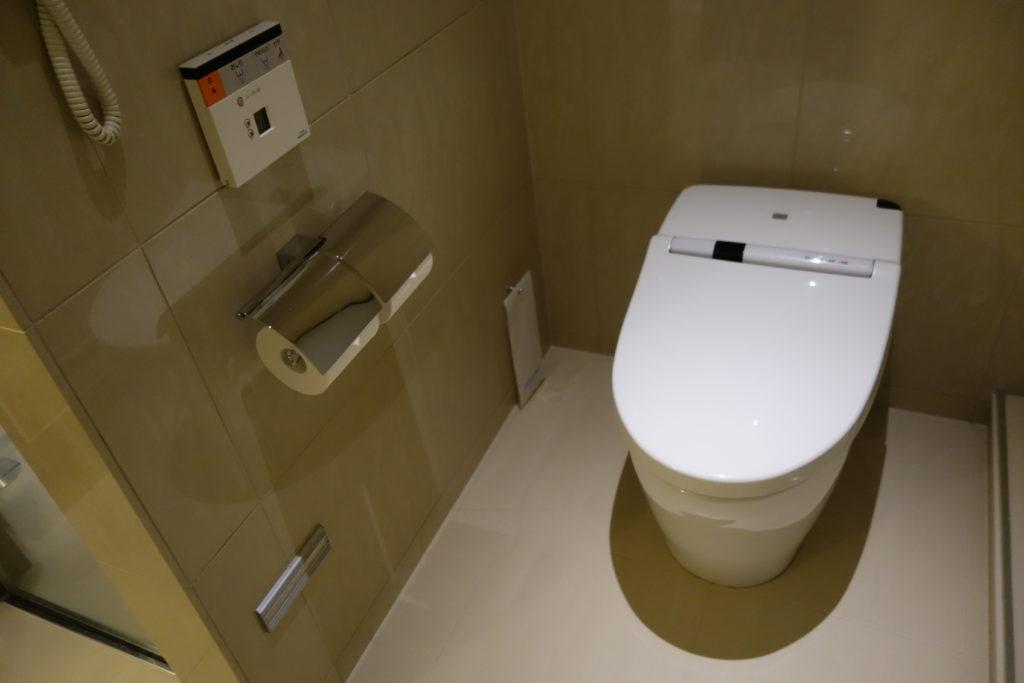 ウェスティンホテル仙台お部屋トイレ