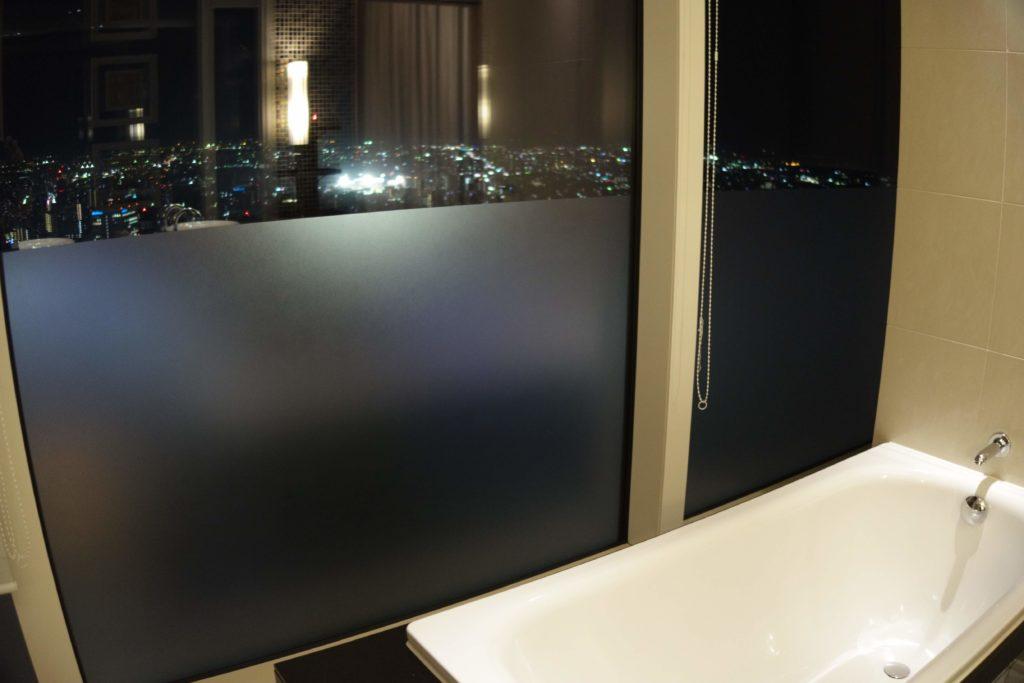 ウェスティンホテル仙台お部屋ビューバス