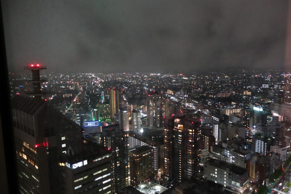 ウェスティンホテル仙台お部屋夜景2