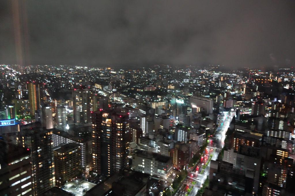 ウェスティンホテル仙台お部屋夜景