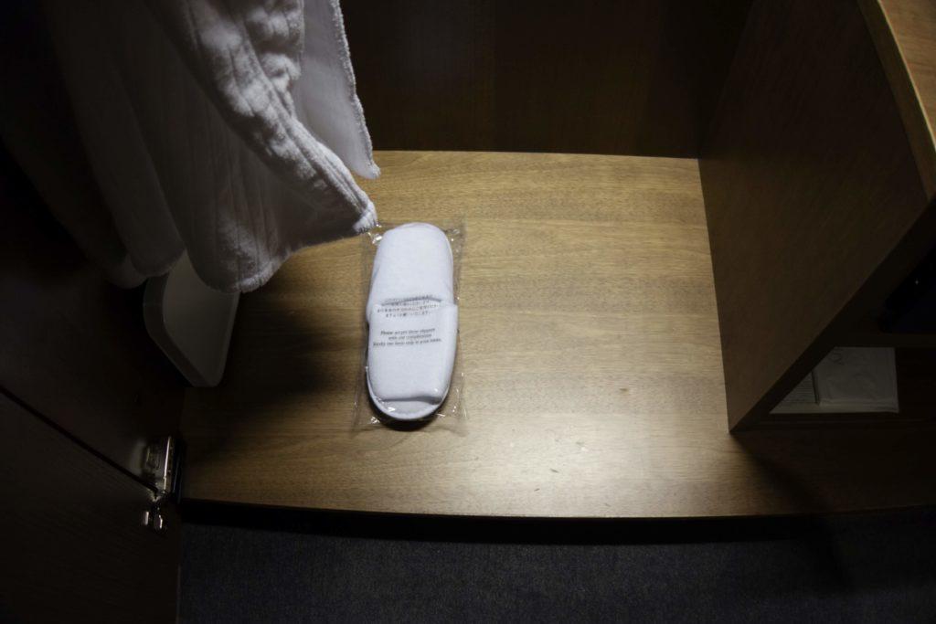 ウェスティンホテル仙台お部屋スリッパ