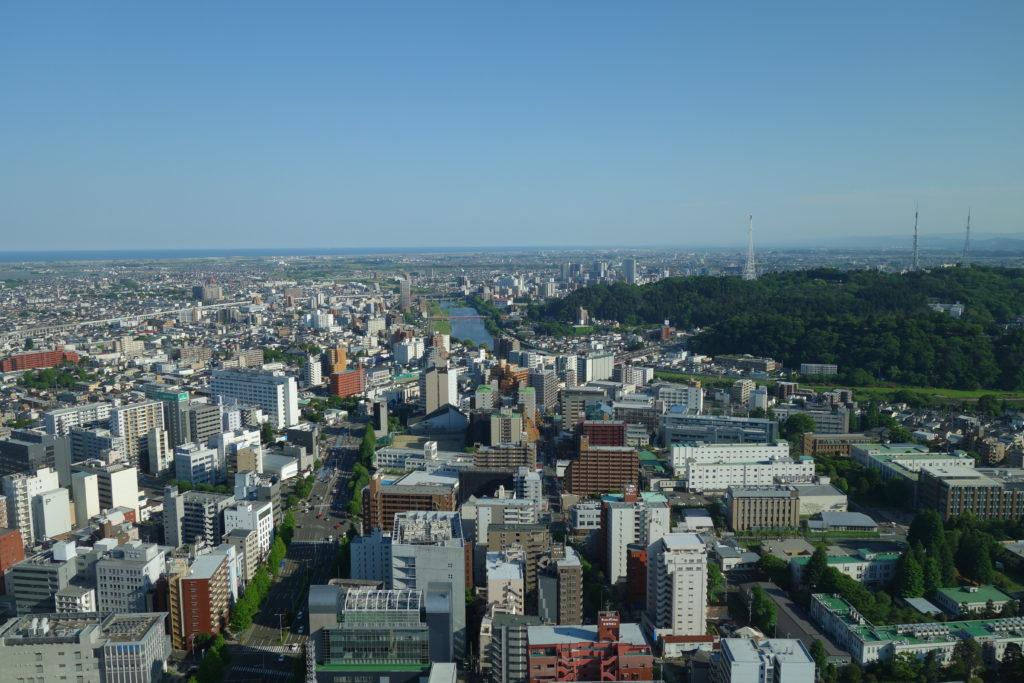 ウェスティンホテル仙台お部屋景色2
