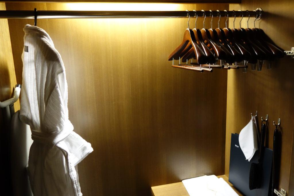 ウェスティンホテル仙台お部屋クローゼット