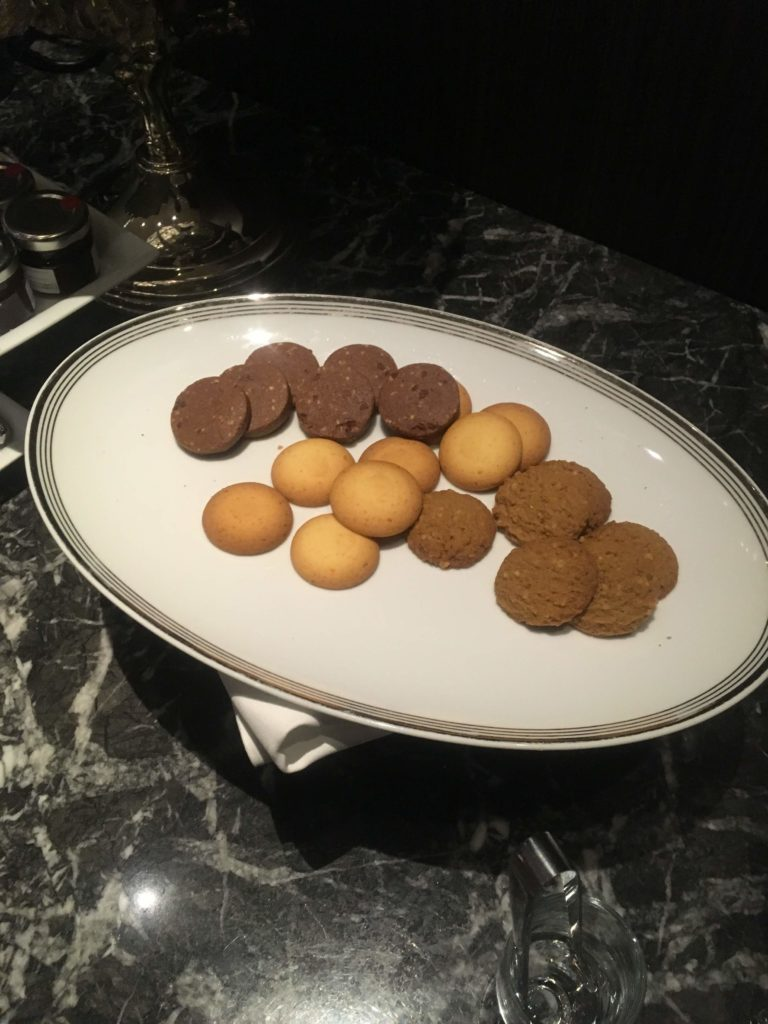 ウェスティンホテル仙台エグゼクティブクラブラウンジクッキー