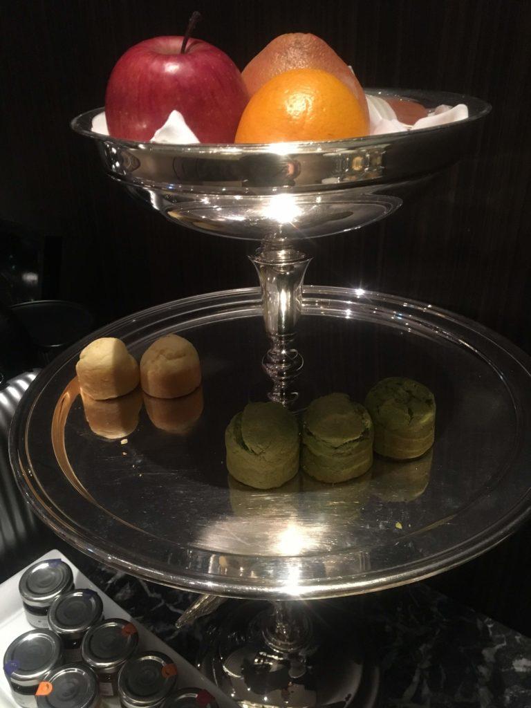 ウェスティンホテル仙台エグゼクティブクラブラウンジ焼き菓子