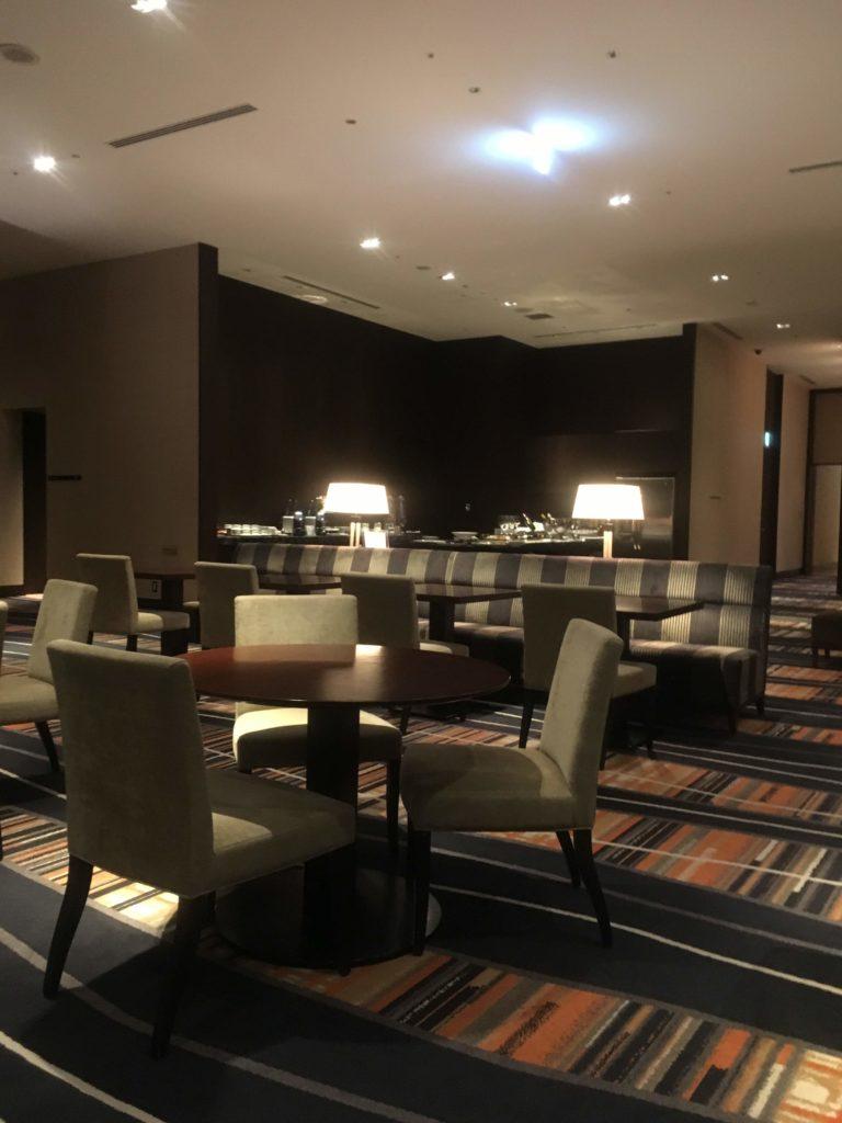 ウェスティンホテル仙台エグゼクティブクラブラウンジ空間