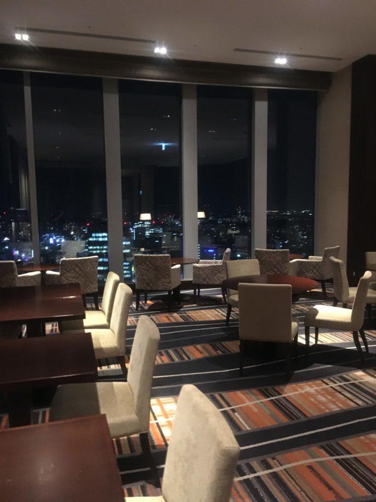 ウェスティンホテル仙台エグゼクティブクラブラウンジ空間2