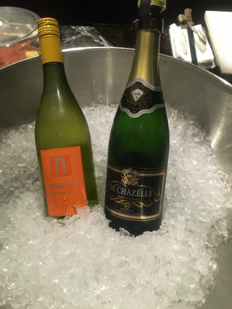 ウェスティンホテル仙台エグゼクティブクラブラウンジスパークリングワイン