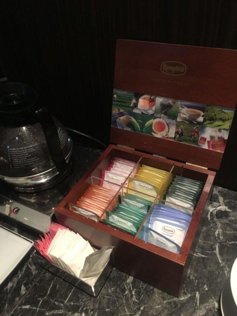 ウェスティンホテル仙台エグゼクティブクラブラウンジ紅茶
