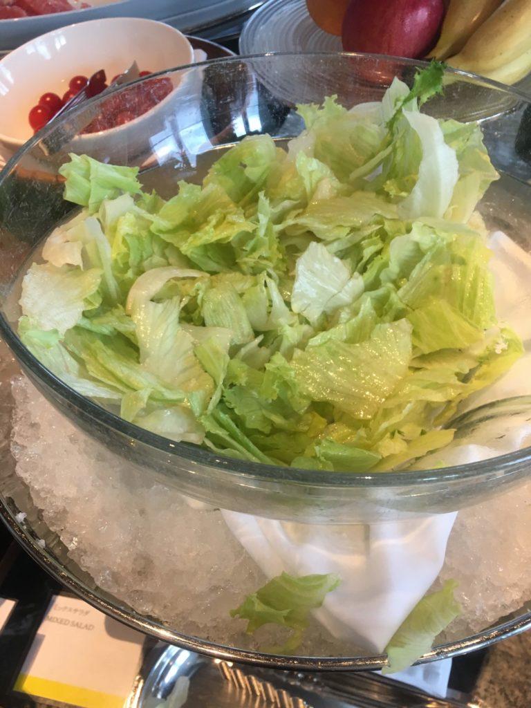 ウェスティンホテル仙台朝食サラダ