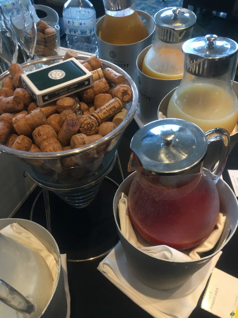 ウェスティンホテル仙台朝食飲み物