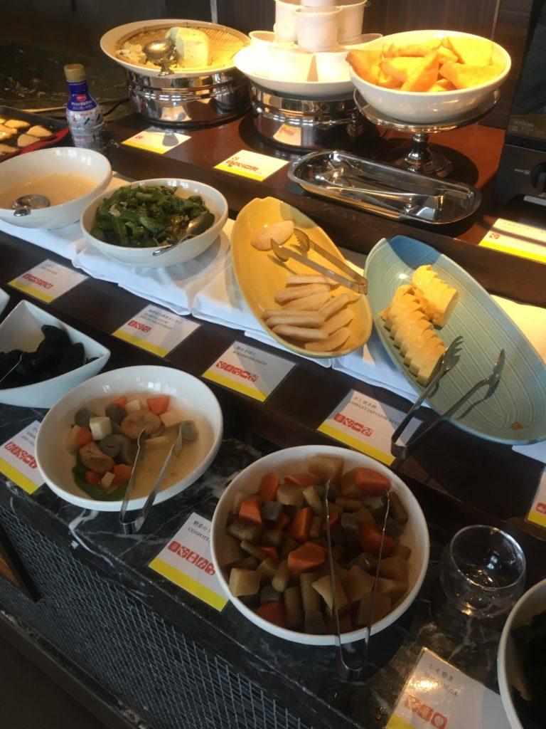 ウェスティンホテル仙台朝食和食2