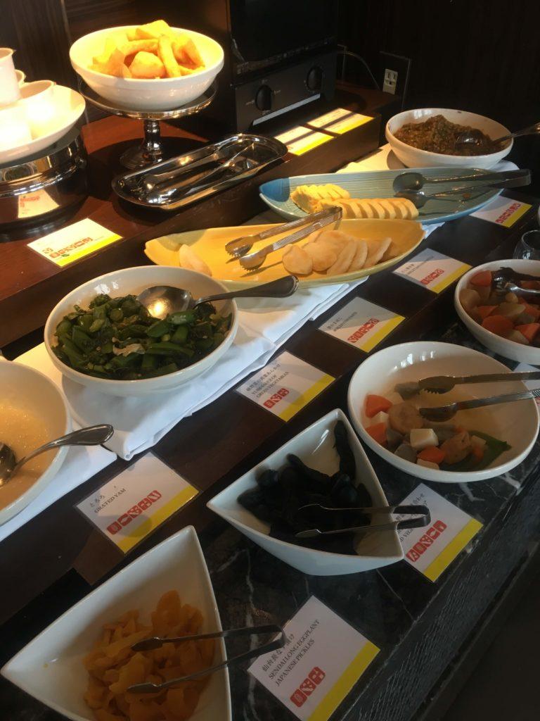 ウェスティンホテル仙台朝食和食