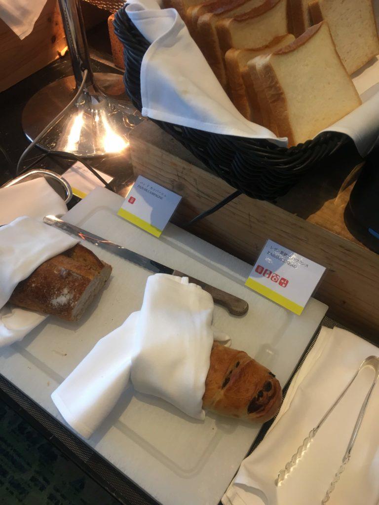 ウェスティンホテル仙台朝食パン2