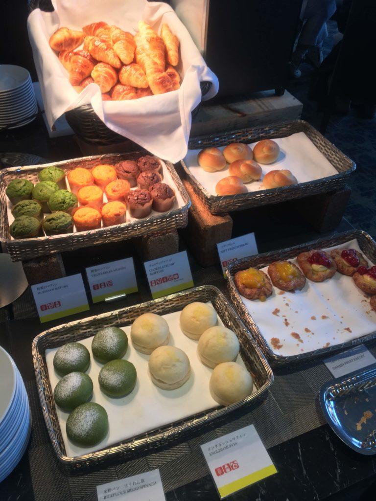 ウェスティンホテル仙台朝食パン