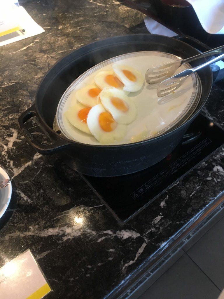 ウェスティンホテル仙台朝食目玉焼き