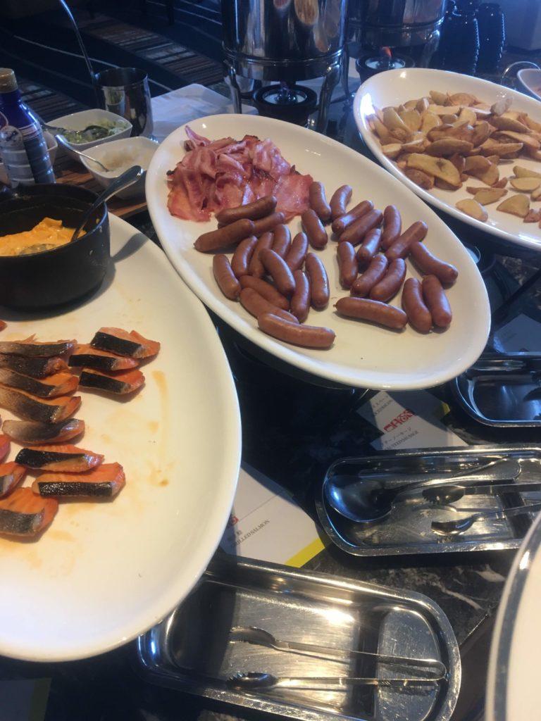 ウェスティンホテル仙台ラウンジ朝食
