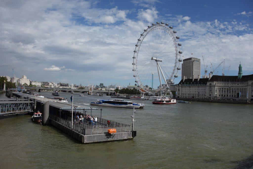 ロンドンけいおん!テムズ川
