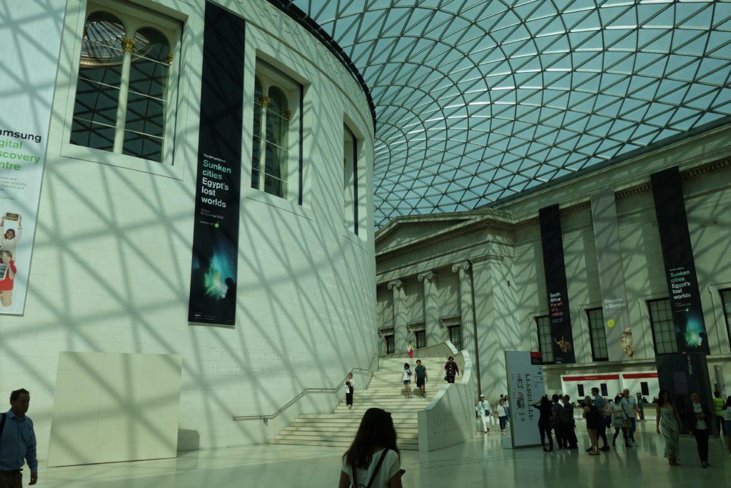 ロンドンけいおん!大英博物館1