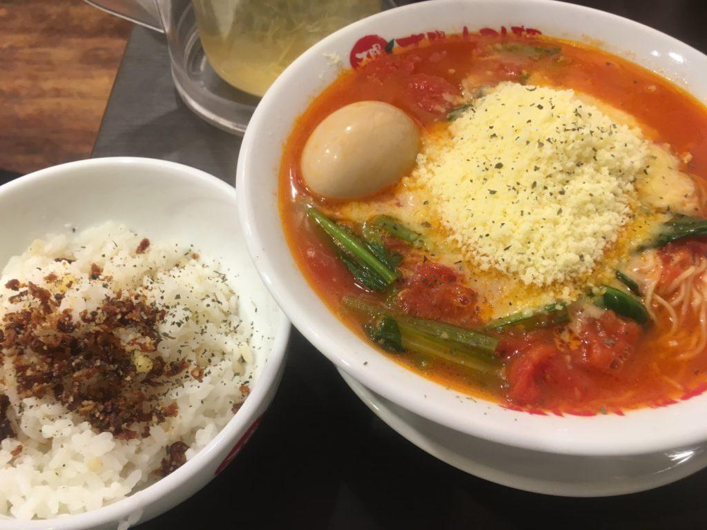 太陽のトマト麺らぁリゾ