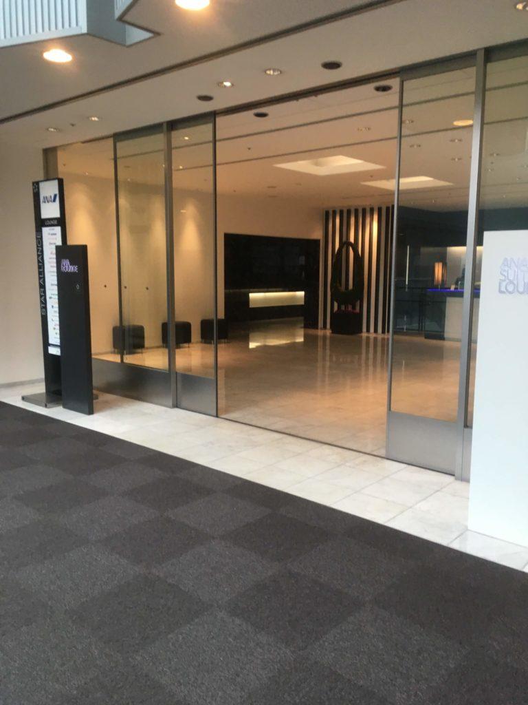 成田空港国際線ANAラウンジ第5サテライト入口