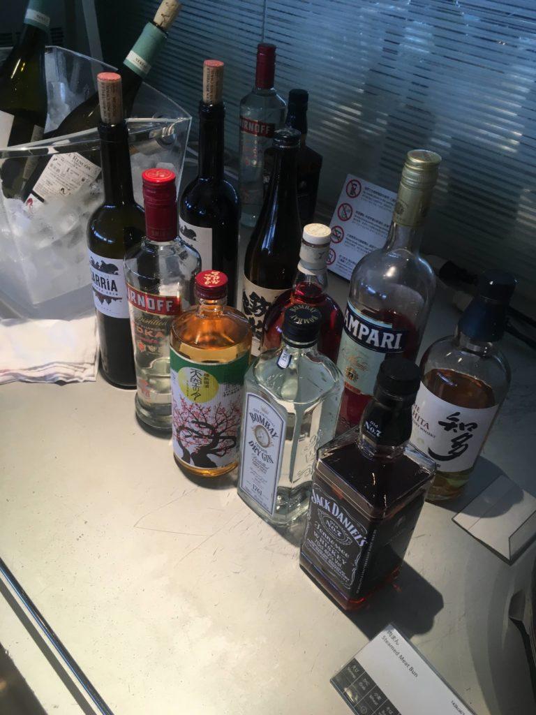 成田空港国際線ANAラウンジお酒