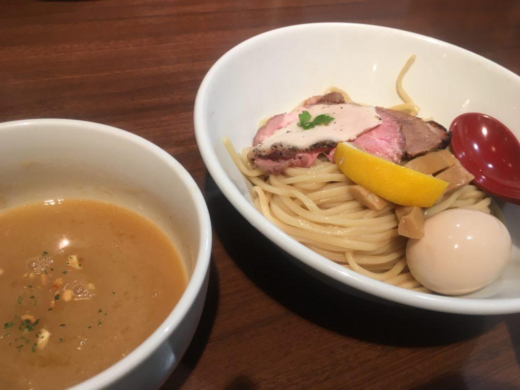 麺屋翔鶏白湯つけ麺