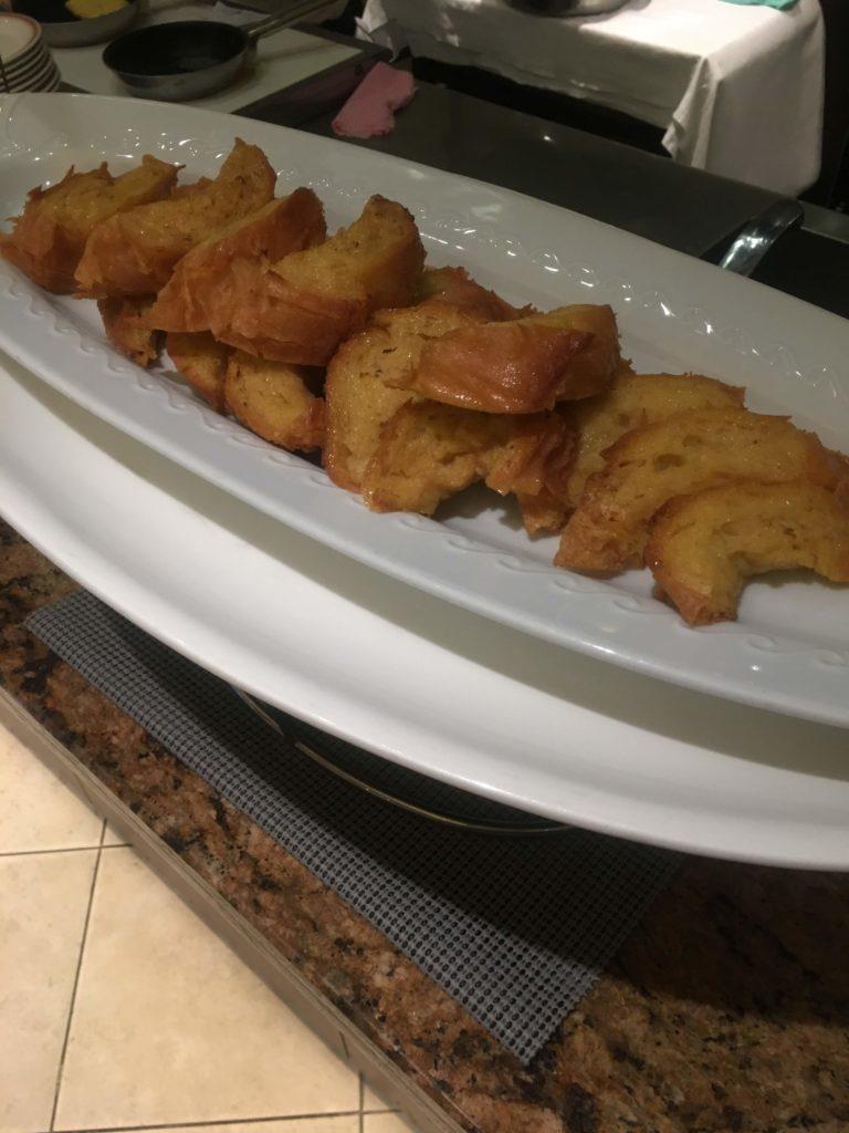ANAクラウンプラザホテル沖縄ハーバービュー朝食フレンチトースト