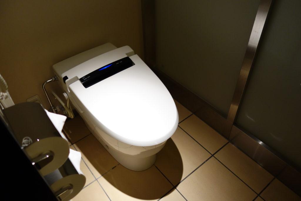 ANAクラウンプラザホテル沖縄ハーバービュートイレ